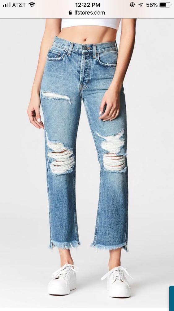 Carmar Denim Straight Leg Jeans