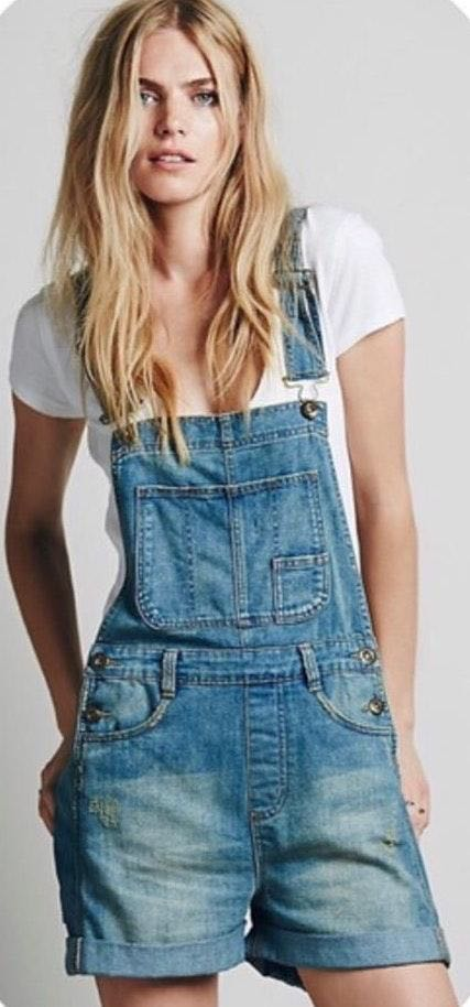 Free People Relaxed Overall Shortfall Freepeople