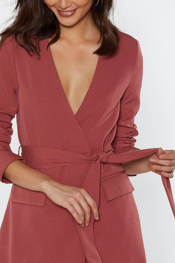 Nasty Gal Blazer Dress