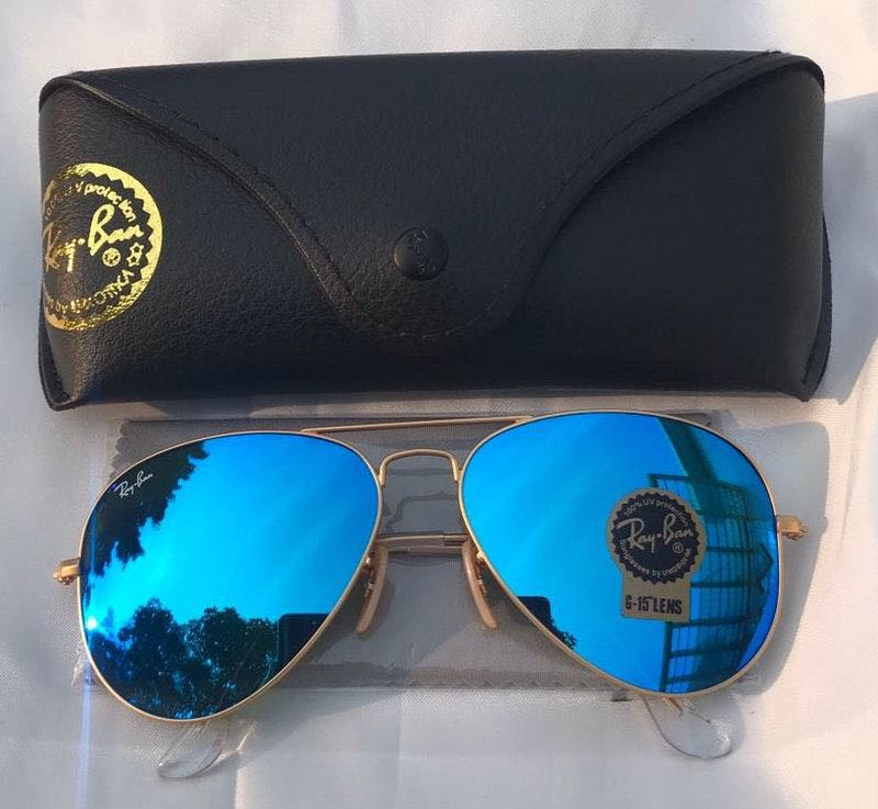 Ray-Ban Ray Ban Blue Aviators 3025 Sunglasses