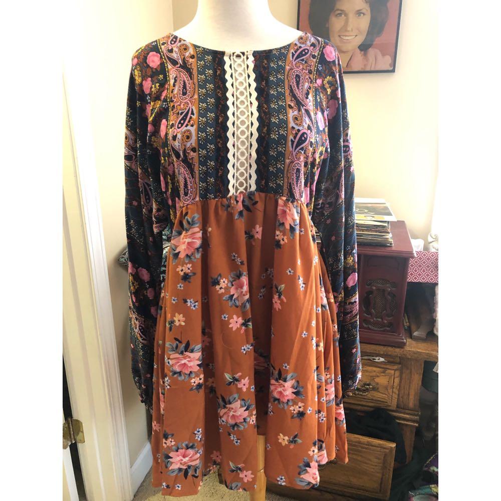 Umgee NWOT  Tunic Dress