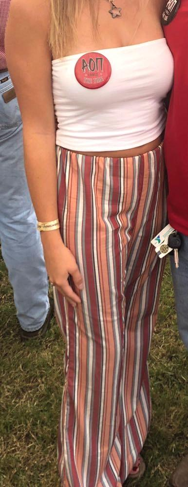TCEC striped pants