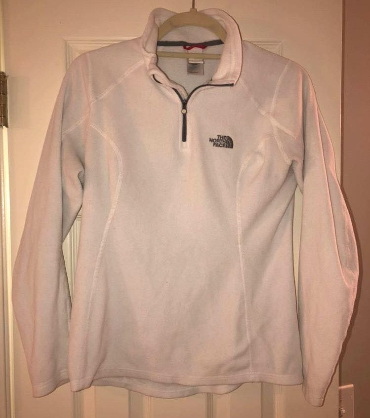 The North Face White North Face Pullover