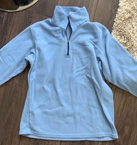 Patagonia Blue  3/4 Zip Up Sweater