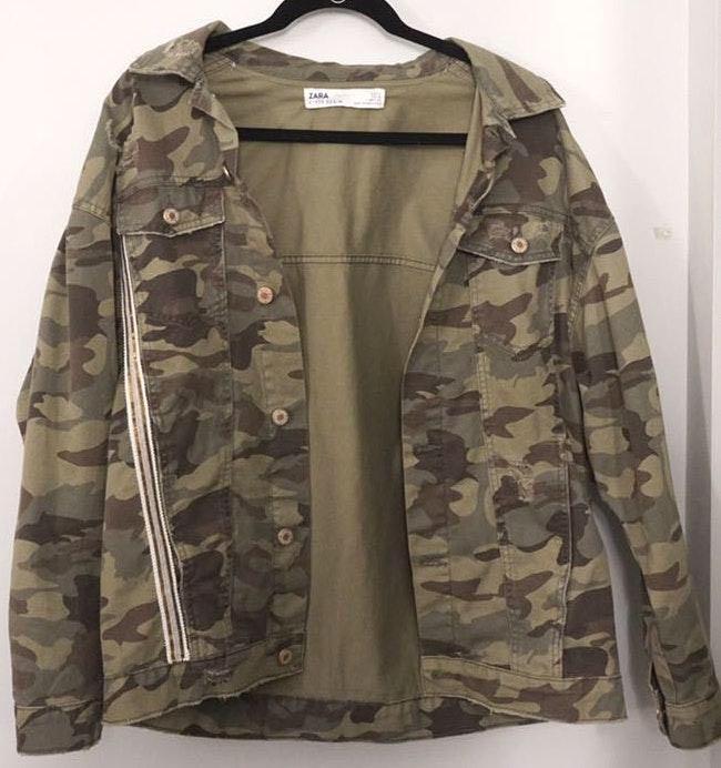 ZARA Camo Jacket