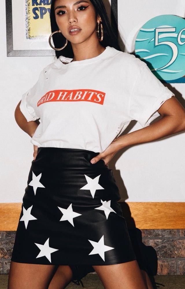 Princess Polly Star Skirt