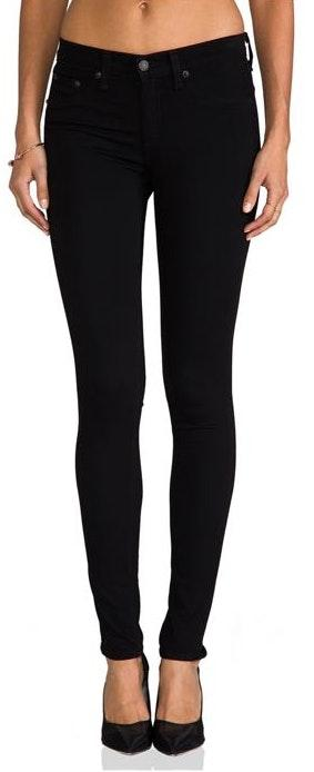 Rag & Bone Legging Jean In Black