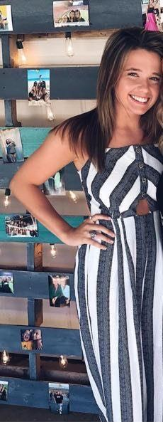 Lizard Thicket Striped Jumpsuit