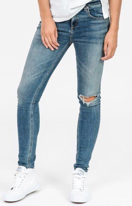 Rag Bone Semi Destroyed Jeans