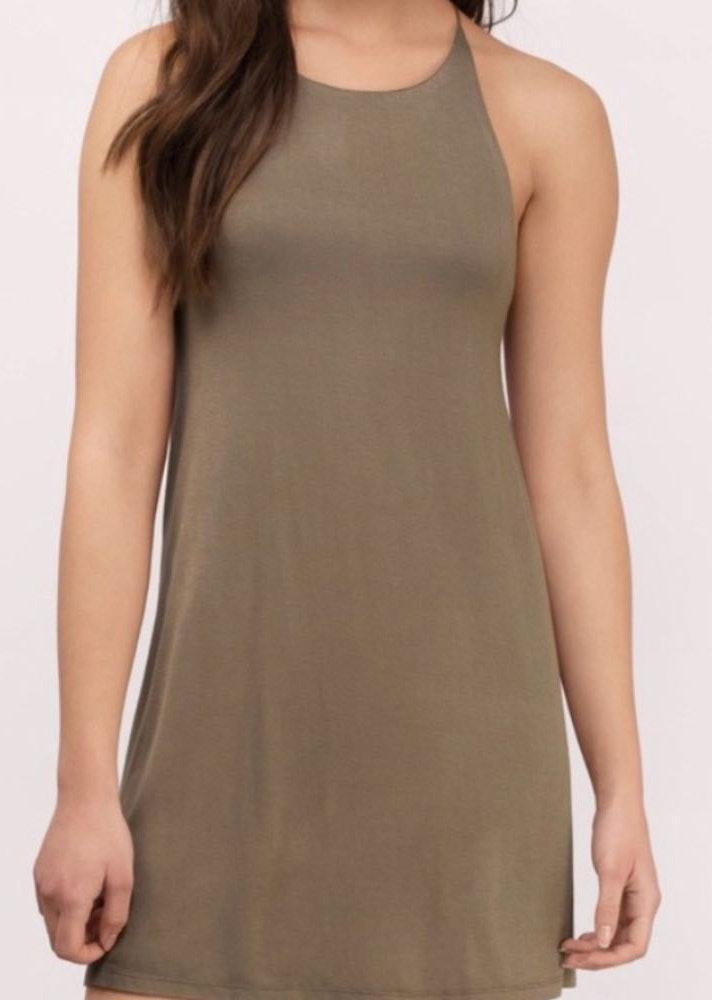 Tobi Backless Dress NWT