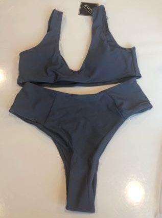 Zaful never worn:: Bikini top with high waisted bottoms