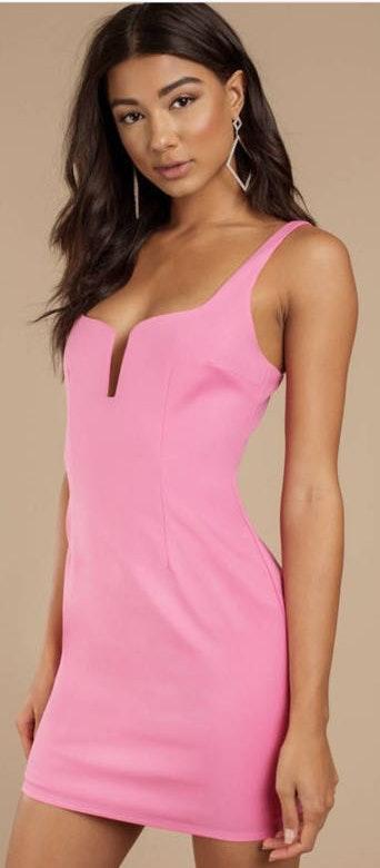 Tobi Hot Pink Dress
