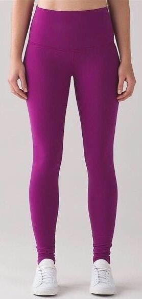 Lululemon Vibrant Purple Leggings