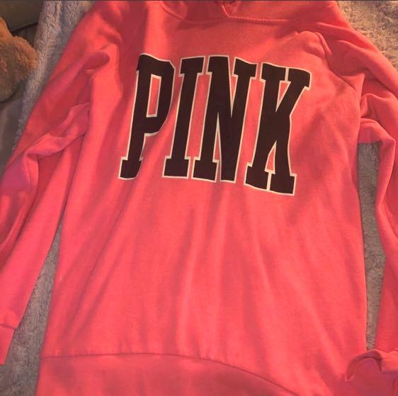 PINK Victoria's Secret Oversized Hoodie