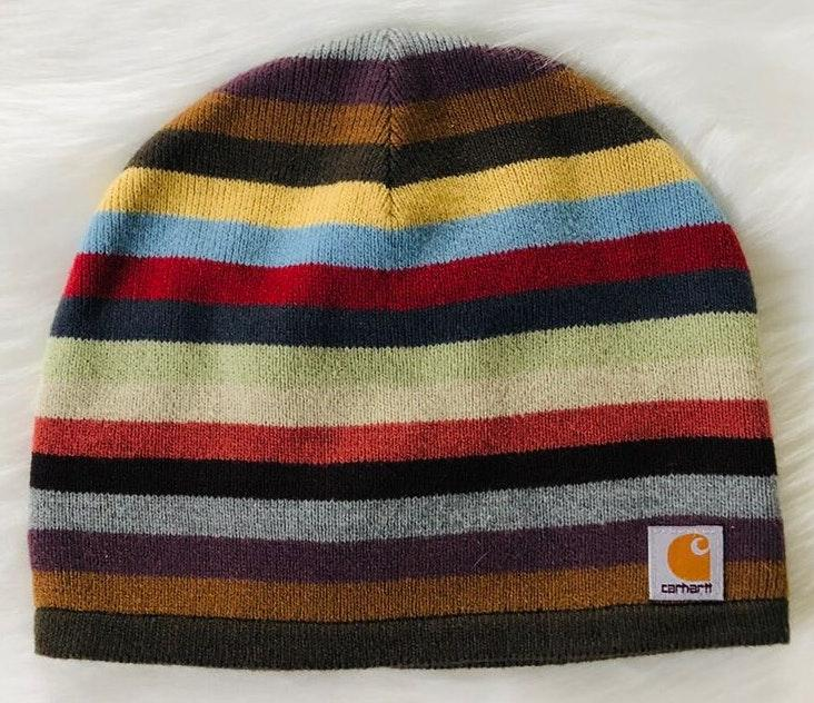 83a4ddf61 Carhartt Fall Winter striped beanie