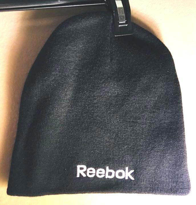 Reebok Black Basic Workout Beanie