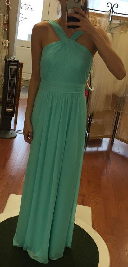 David's Bridal Bridesmaid/formal Dress