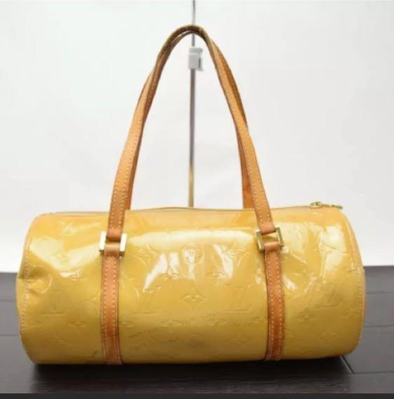 Louis Vuitton Yellow Vernis Handbag