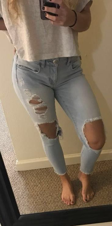 American Eagle Outfitters boyfriend style jeans