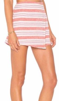 Lovers + Friends Stargazer striped skort