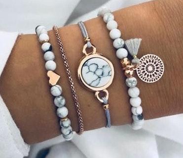 Boutique Marble Bracelet Set