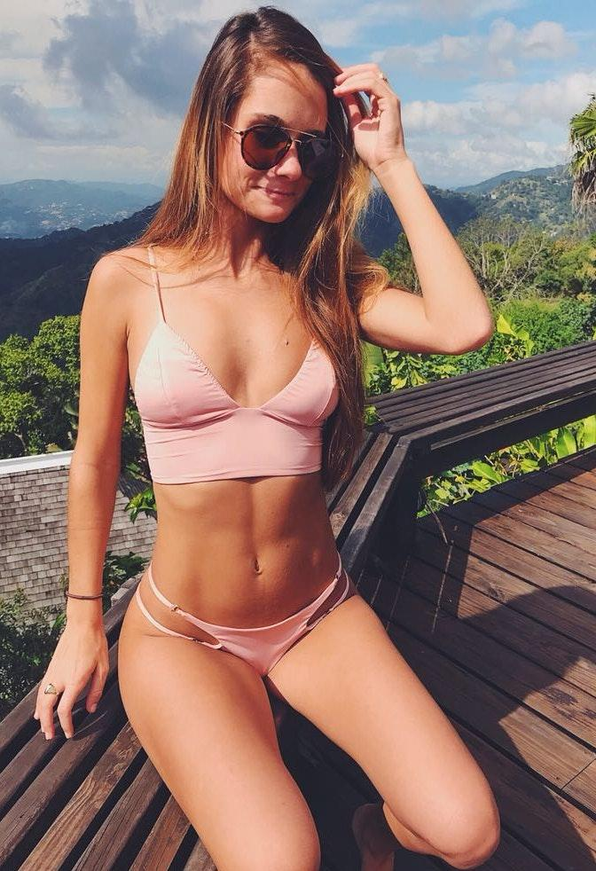 Frankie's Bikinis Rose Water Bikini