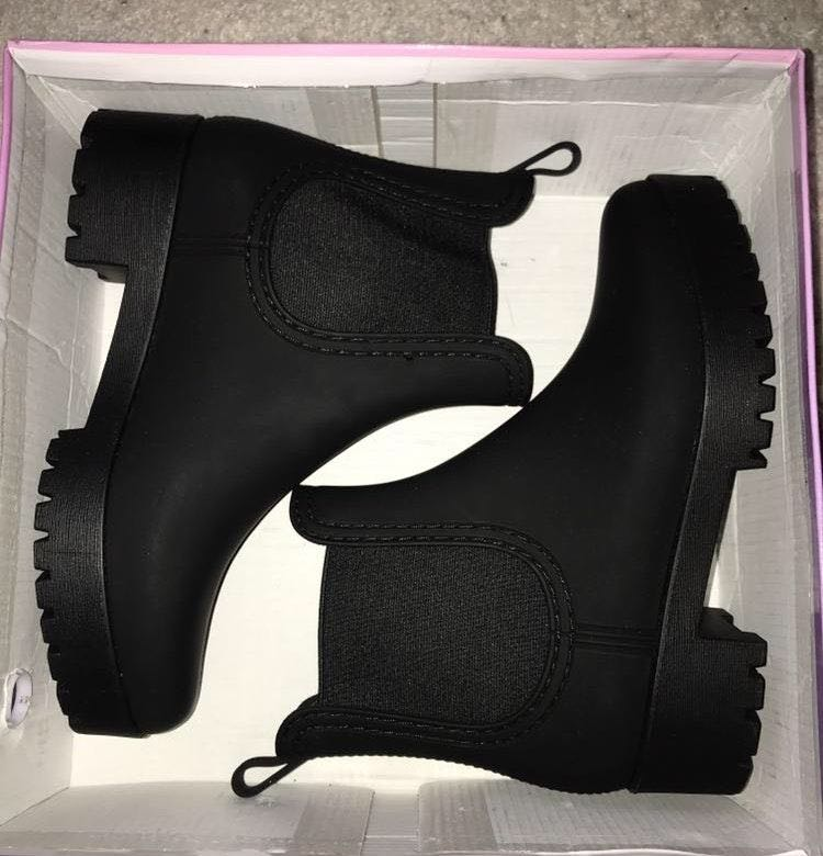 "a403725afa11 Jeffrey Campbell ""Cloudy"" Rain Boot"