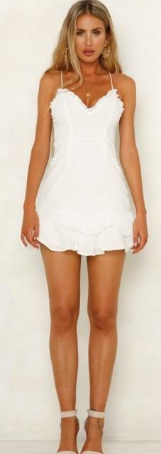 Hello Molly White  Dress