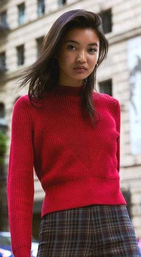 Kendall & Kylie Red Sweater