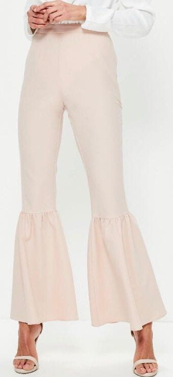 Missguided Knee Flare Tapered Trousers NWT