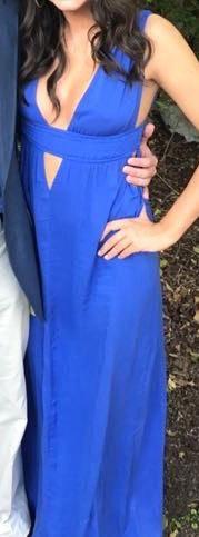 Tobi Blue Formal Dress