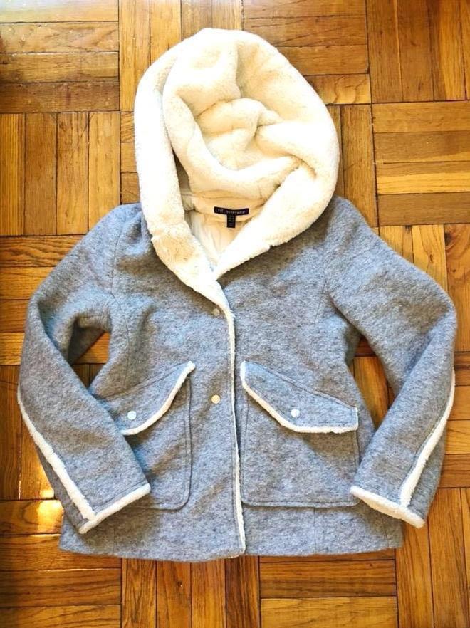ZARA Fur Lined Sherpa Coat