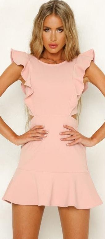 Hello Molly Blush Dress