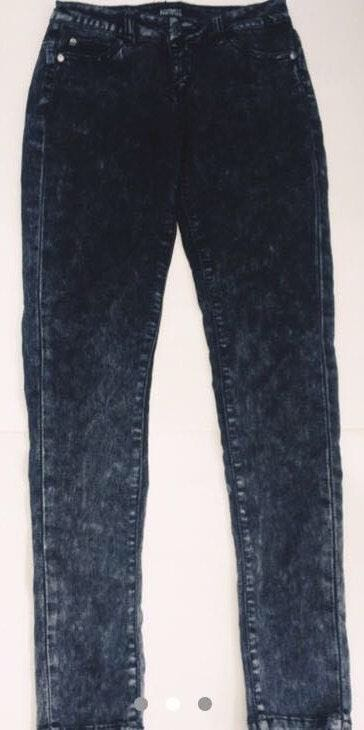Celebrity Pink Black Acid Wash Jeans