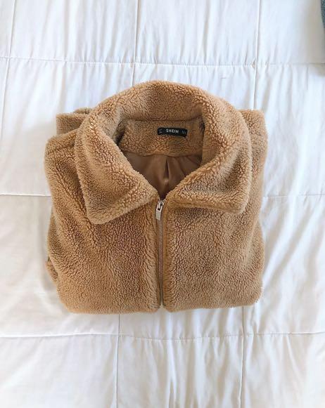 SheIn teddy coat