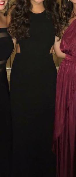 Lulus Black Cocktail Dress