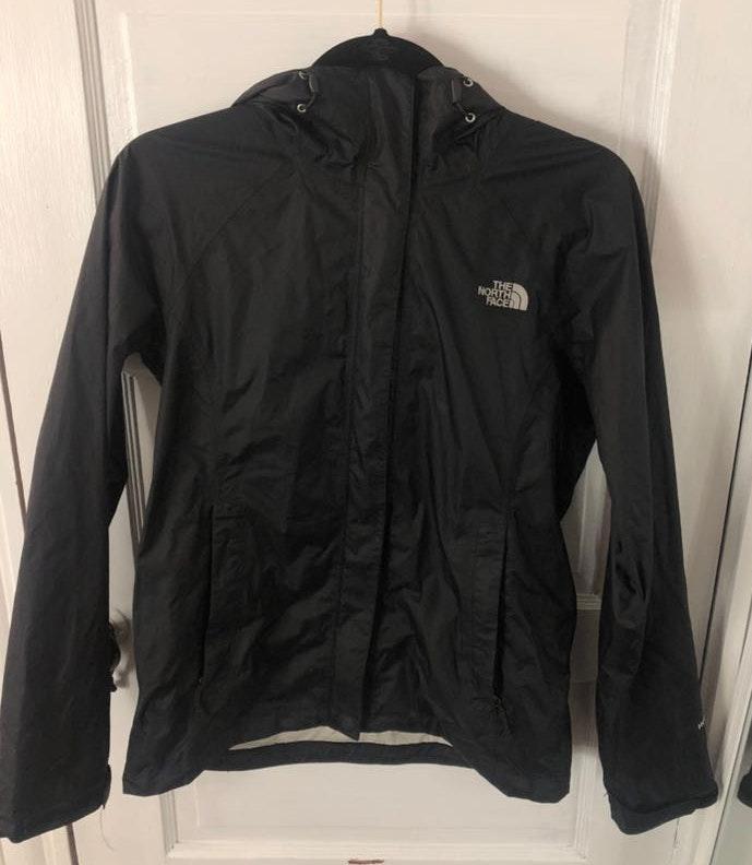 The North Face Black North Face Rain jacket
