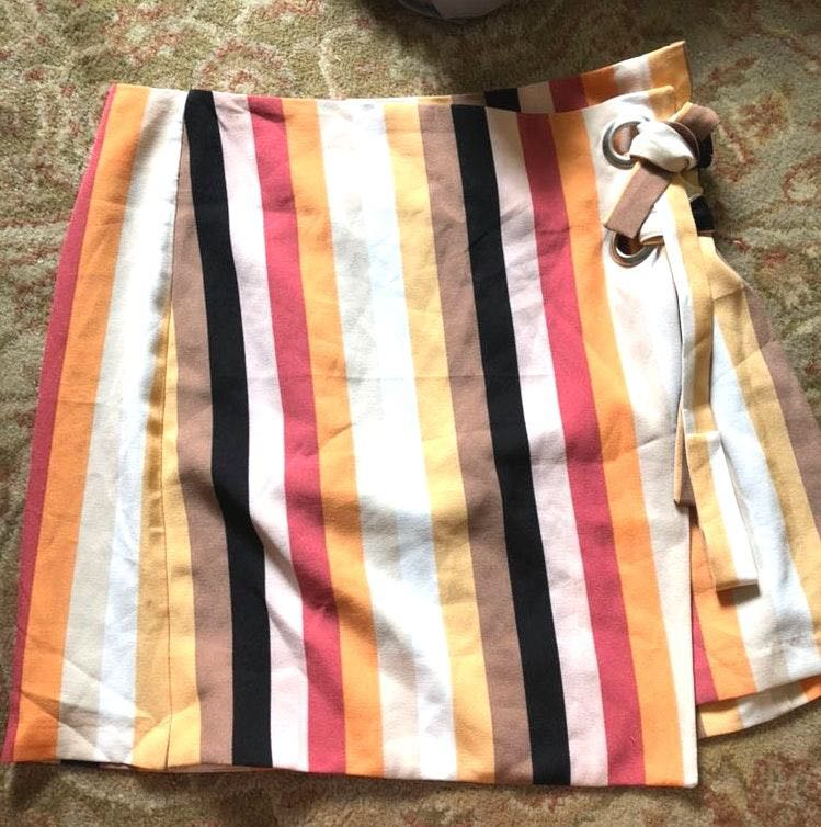 Urban Outfitters Striped Skirt
