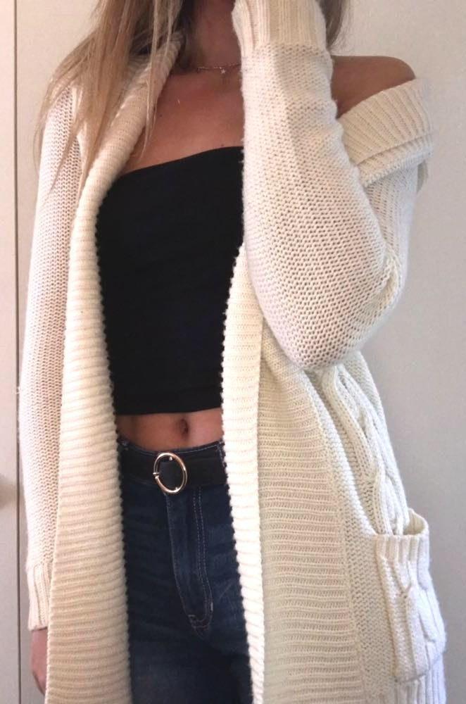 Cream/Ivory Cardigan