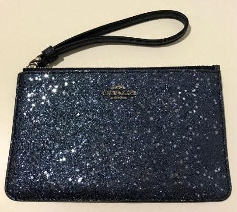 Coach Wristlet ( Navy With Stars)