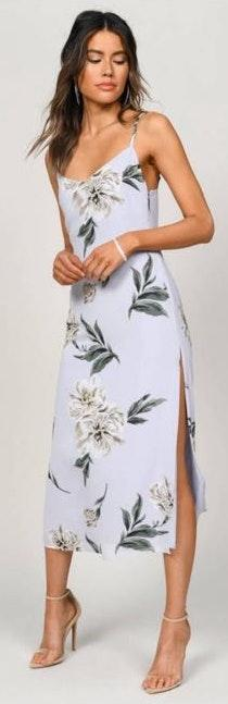 Tobi Floral Midi Dress