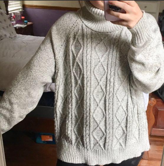 Jack by BB Dakota Chunky Turtleneck Sweater