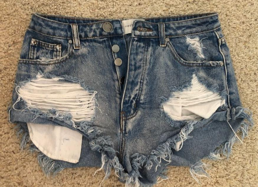 Vestique High Waisted Shorts