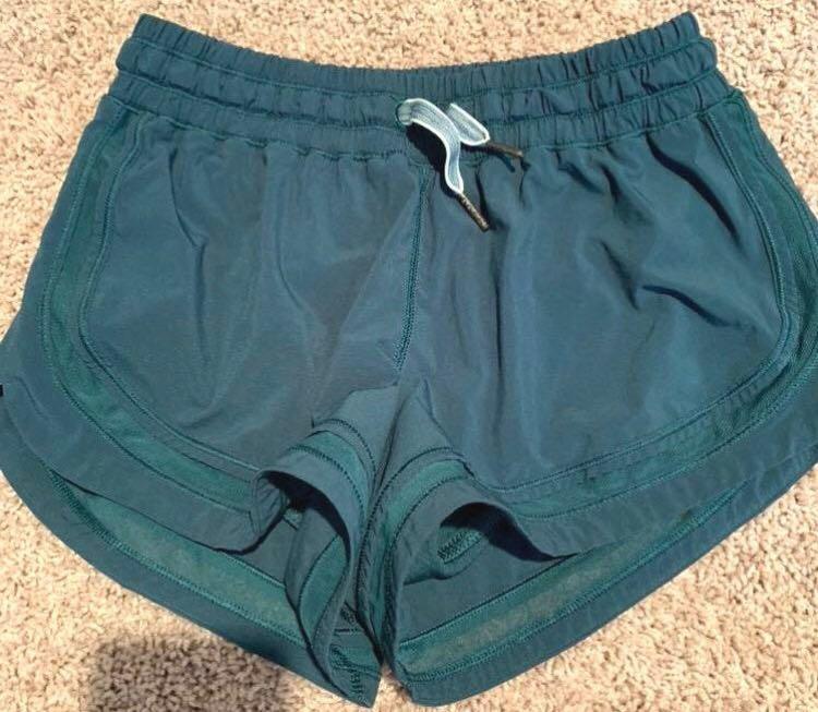 Lululemon Green lulu shorts