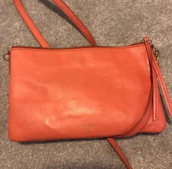 Fossil Pink Purse