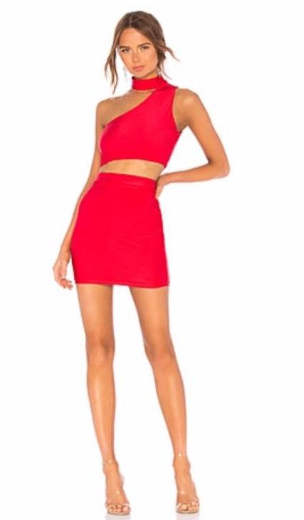 Revolve Red Two Piece