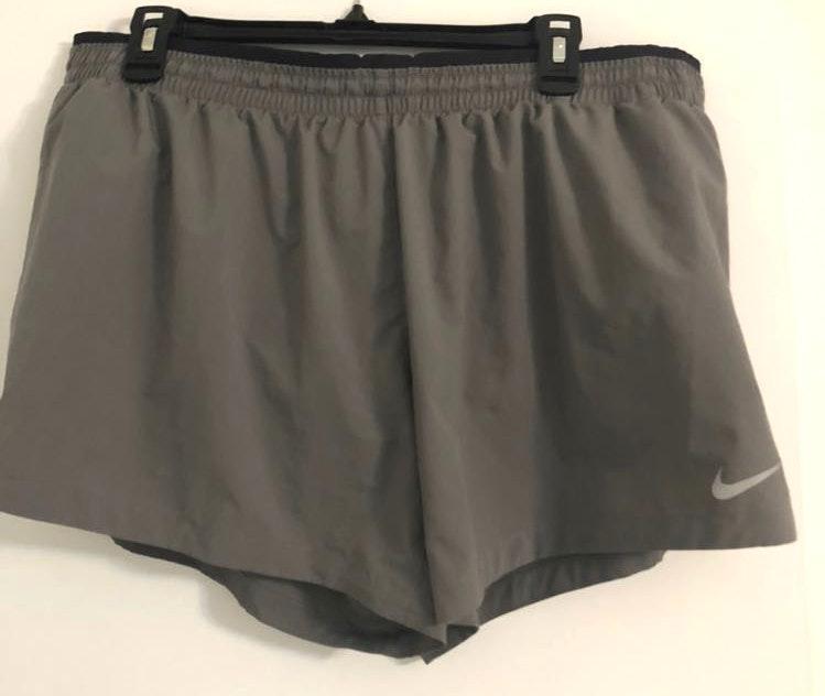 Nike Gray Running Shorts