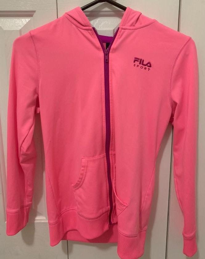 FILA hot pink  sports jacket