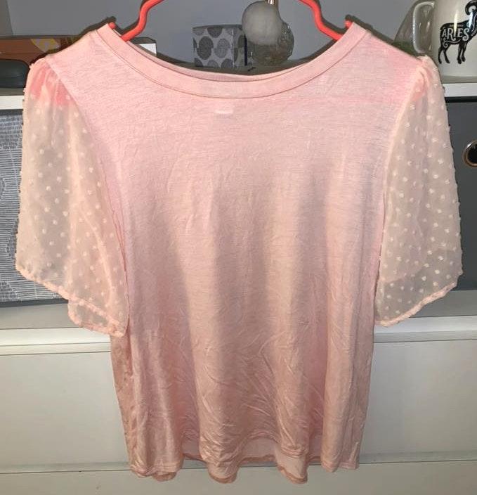 Versona Light Pink Top