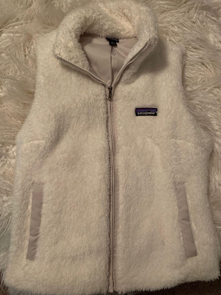 Patagonia White Fluffy  Vest